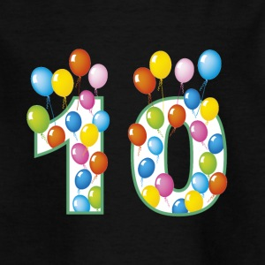 Tenth birthday - Kids' T-Shirt