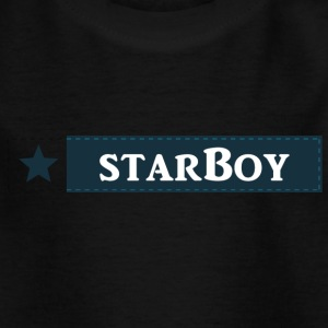 starboy_boy - T-skjorte for barn