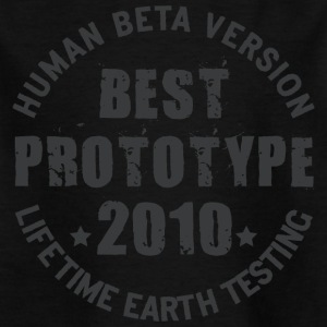 2010 - The birth year of legendary prototypes - Kids' T-Shirt