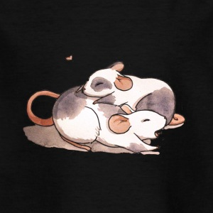 Mice cuddling - Kids' T-Shirt