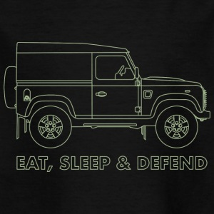 Eat Sleep Defend - Kids' T-Shirt