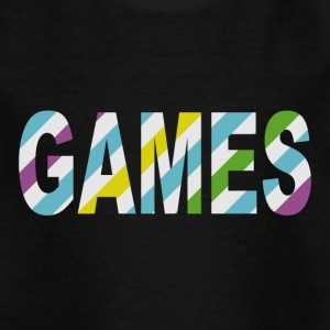 Game Stripes - Kinderen T-shirt