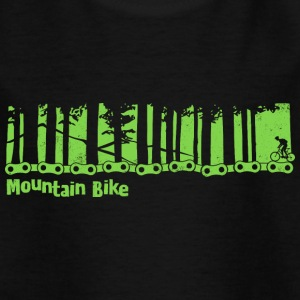 Mountain Bike - fahrrad rad - Kinder T-Shirt
