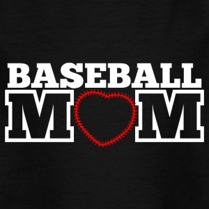 baseball mamma - T-skjorte for barn