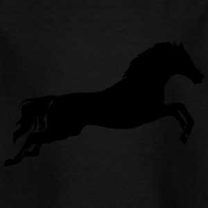 Horse, jumping horse, - Kids' T-Shirt