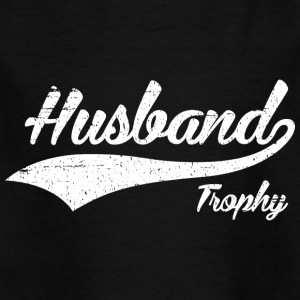 Trophy Husband - T-skjorte for barn