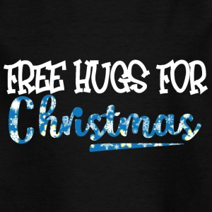 Weihnachten: Free Hugs For Christmas - Kinder T-Shirt