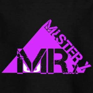 MR X-lila - Kinder T-Shirt