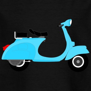 Vespa moped - Kids' T-Shirt