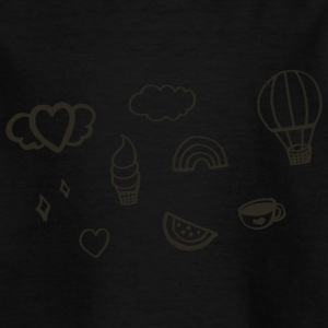 images to digital graphic - Kids' T-Shirt