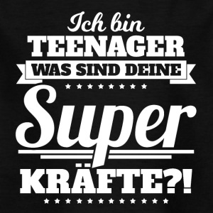 Ich bin Teenager - Kinder T-Shirt