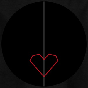 Black_heart - Kinder T-Shirt