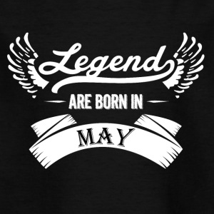 Legends are born in May - Kids' T-Shirt