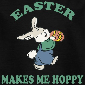 Easter Makes Me Hoppy - Kids' T-Shirt