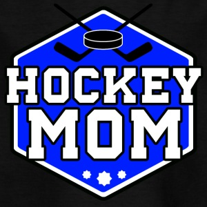 hockey mamma - T-shirt barn