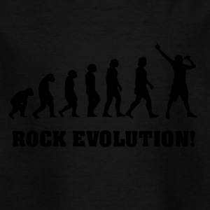 Singing Evolution, gift for singer - Kids' T-Shirt