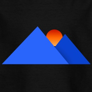 mountains - Kids' T-Shirt