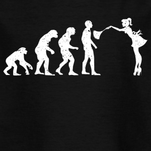 EVOLUTION HAUSFRAU! - Kinder T-Shirt