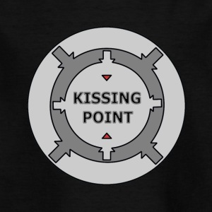 Kissing Point Grey - Kinderen T-shirt