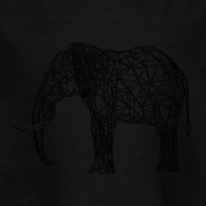 Techno Elephant - T-skjorte for barn
