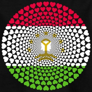 Tajikistan Tadschikistan Тоҷикистон Love Mandala - Kinder T-Shirt