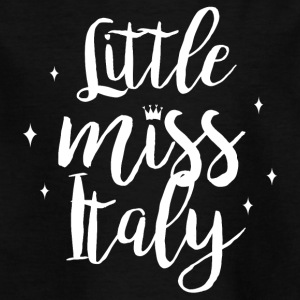Little Miss Italy - Kinder T-Shirt