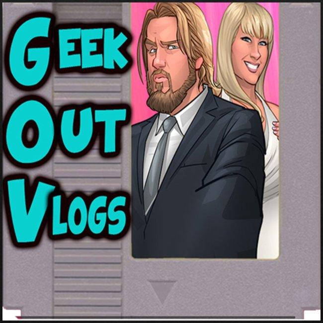 GeekOut Vlogs NES logo