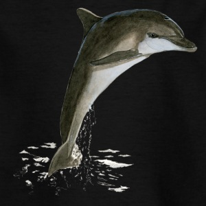 Tursiops_truncatus - Kids' T-Shirt