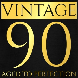 90-årsdag: Vintage 90 - Aged To Perfection - T-shirt barn
