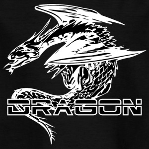 amazing dragon black - Kinderen T-shirt