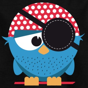 Birdie pirate - Kids' T-Shirt