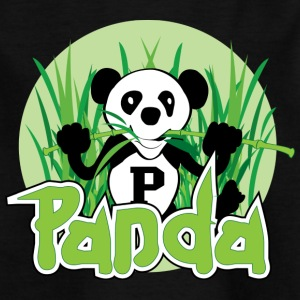 panda - T-skjorte for barn