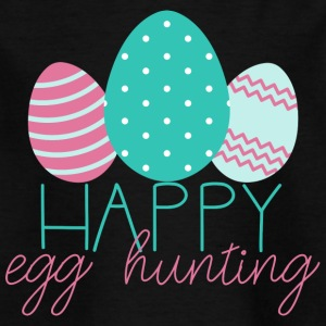 Ostern / Osterhase: Happy Egg Hunting - Kinder T-Shirt