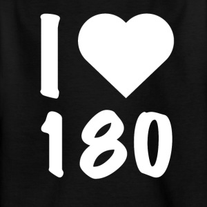 Dart - I Love 180 - Kinder T-Shirt