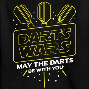 DARTS WARS - MAY THE DARTS BE WITH YOU - Kids' T-Shirt