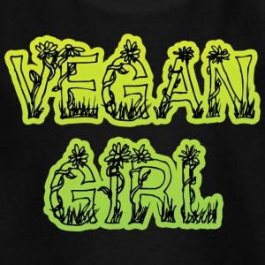 Vegan Girl - T-shirt Enfant