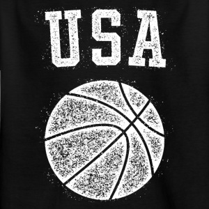 USA Basketball Vintage - Børne-T-shirt
