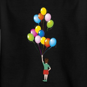 Birthday balloons baby 01 - Kids' T-Shirt
