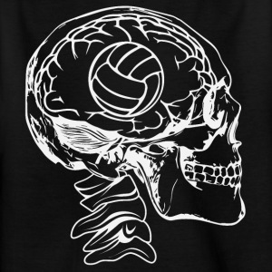 Volleyball in the head - Kids' T-Shirt