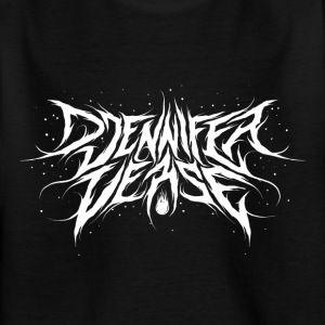 Djennifer Frische Metal Design - Kinder T-Shirt