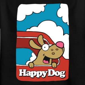 Happy_Dog - T-shirt Enfant
