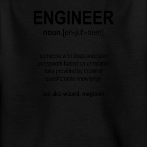 """Engineer"" Def. 1 (svart) - T-skjorte for barn"