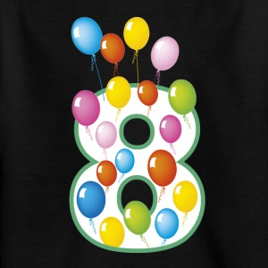 8th birthday - Kids' T-Shirt