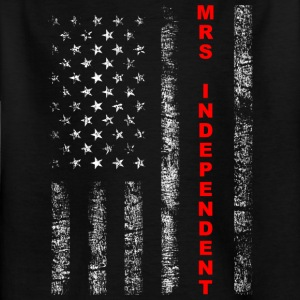 Mrs Independent - Kinder T-Shirt