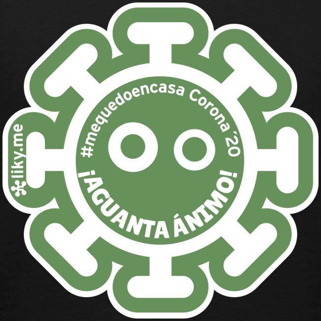 Corona Virus #mequedoencasa verde