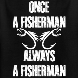 I love Fisherman - T-shirt Enfant
