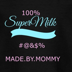 super transparent milk - Kids' T-Shirt