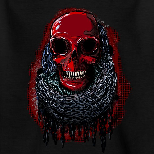 Red Skull in Chains