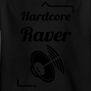 Hard Core Raver - Kinderen T-shirt