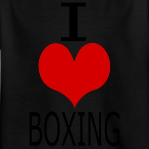 ICHLIEBEboxing - Kids' T-Shirt